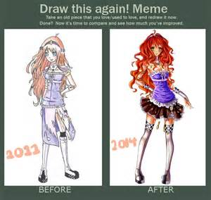 draw this again meme template draw this again meme by artemiscrescent on deviantart