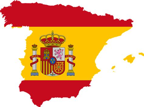 Free Vector Graphic Spain Country Europe Flag Free Image On Pixabay 1758851 Printable Spain Flag