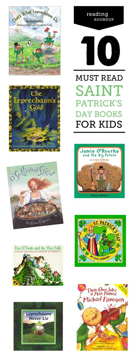 s day books st patrick s day books for
