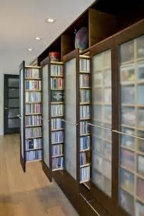 Dvd Bookshelves Unique Stylish Dvd Storage Ideas