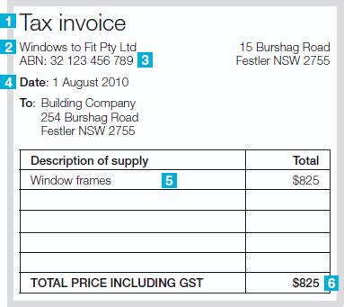 Invoice Template Excel Australia by Invoice Template Australia Abn Invoice Exle