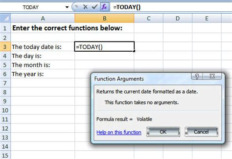 S Day Function Excel Time Format Using Now And Time Functions