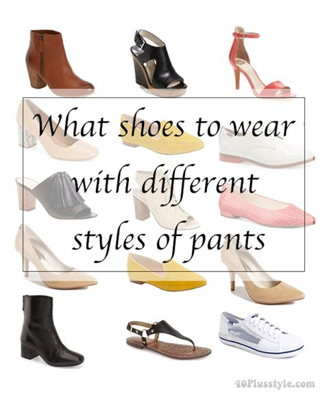 what shoes to wear with what shoes to wear with different styles of