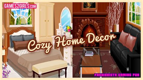 cozy home decor fun  decorating games  girls