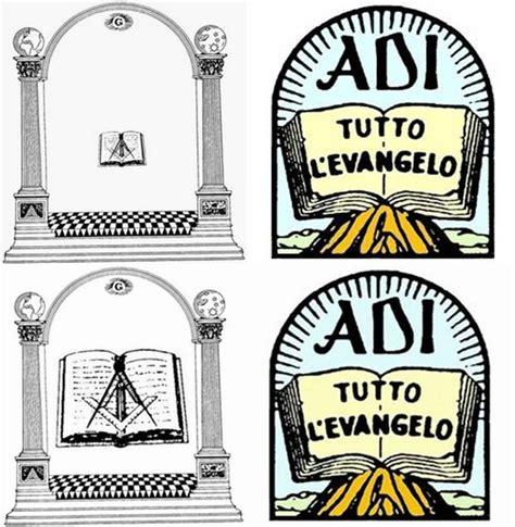 simboli illuminati massoneria lo stemma delle adi rimanda alla simbologia massonica il