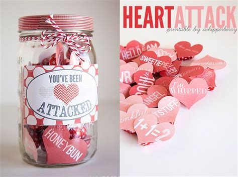 Valentines Day Table Decor by Valentine S Day In A Jar On Pinterest Valentine Gifts