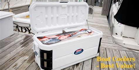 small boat cooler seat marine coolers top 5 best boat coolers for the money