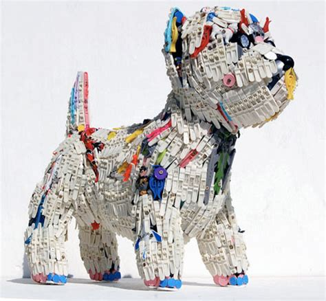 art of recycle how to recycle recycled art sculptures from throw away