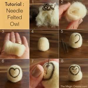 Needle Felting Templates by My Owl Barn Easy Needle Felted Owl Diy Tutorial