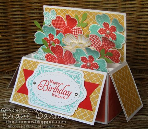 gift box pop up card template colour me happy matchy matchy punch board gift box