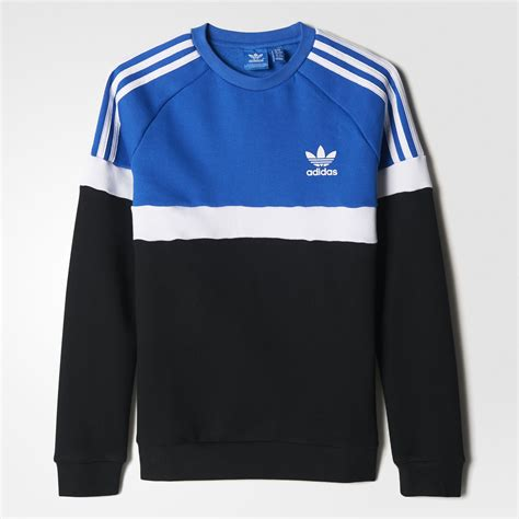 Sweater Adidas 3 Colors colourblock sweatshirt
