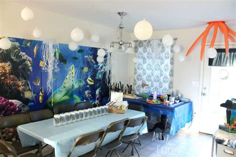sea themed decorations themed birthday theme