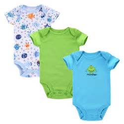3pcs lot baby romper 2015 summer baby clothing newborn