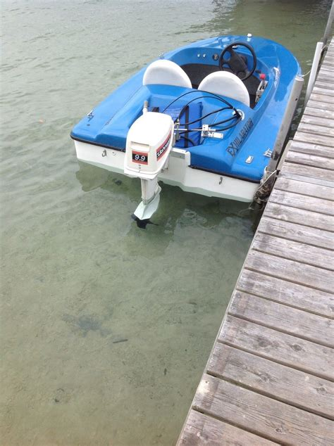 2 person boat exhilarator 101b mini speed boat 2011 for sale for 2 700
