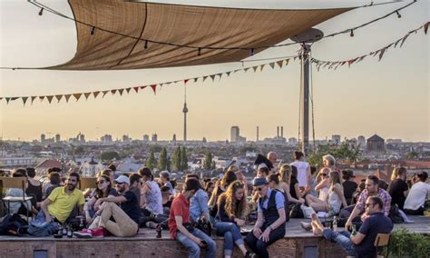 roof top bars berlin klunkerkranich the coolest roof top bar in berlin go