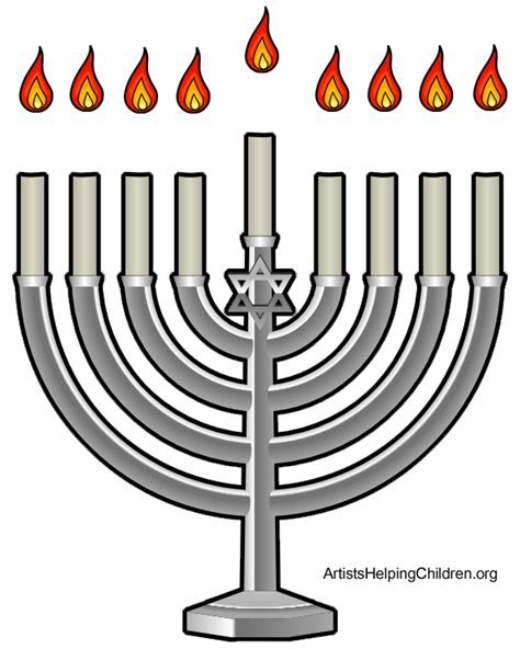 menorah template 28 images the world s catalog of