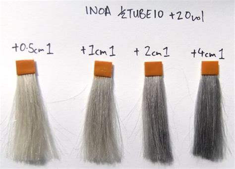 silver hair color formula diluting black to grey hair coloring