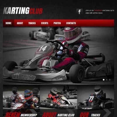 theme wordpress karting karting templates templatemonster