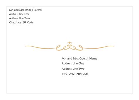 a7 card template publisher wedding invitation envelope scroll design