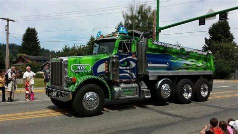truck seattle seahawks dump truck go seahawks seahawks