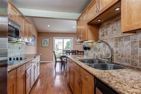 houzz galley kitchen designs condo galley kitchen