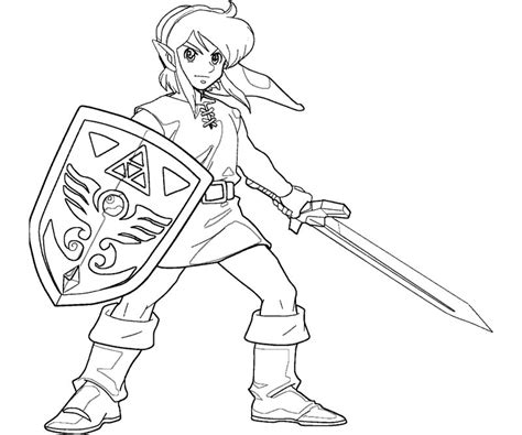 smash bros coloring pages
