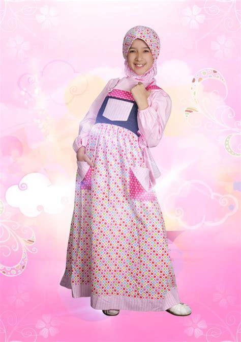 Gamis Anak Queena Aini 120903 Baju Muslim Gamis Modern
