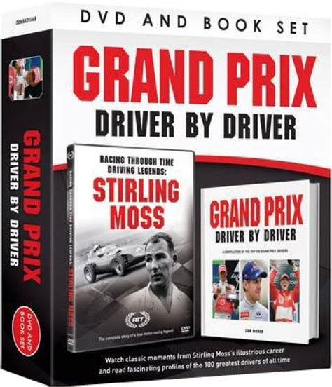 driver books grand prix driver by driver includes book dvd zavvi nl