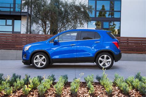 2015 chevrolet trax ltz side profile photo 5