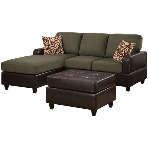 Loveseat Ottoman Sectional Sofas For Small Spaces