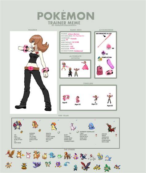 Pokemon Team Memes - pokemon team meme by missestokiwartooth on deviantart