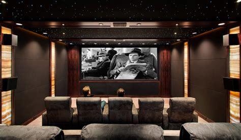 Living Room Cinema Cheltenham Screening Room Traditional Home Theater San
