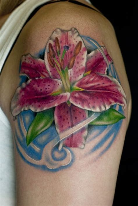 stargazer lily tattoo stargazer amazing tattoos