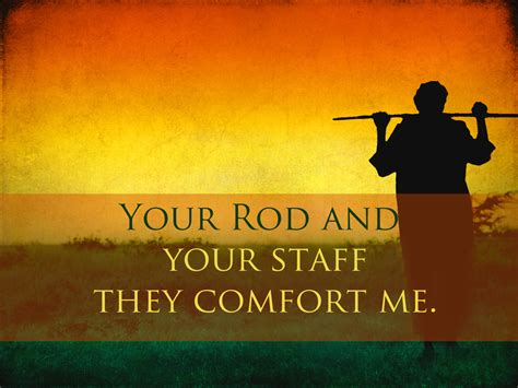 your rod and staff comfort me thy rod and thy staff they comfort me knox ladies seminar