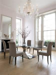 Glass Dining Room Tables And Chairs by 40 Glass Dining Room Tables To Revamp With From Rectangle