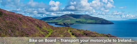 Motorradtransport England by Trans Maritime Ag Bike On Board