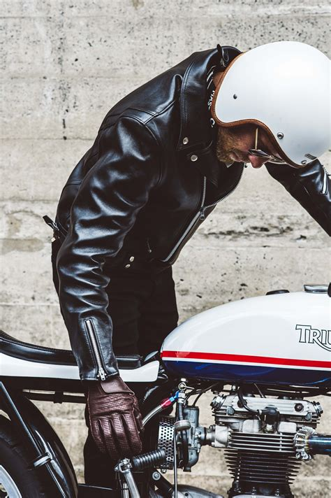 motorcycle leathers addict clothes x deus ex machina motorcycle leather jacket
