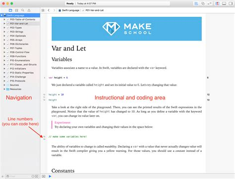 xcode tutorial deutsch swift get started with xcode make school