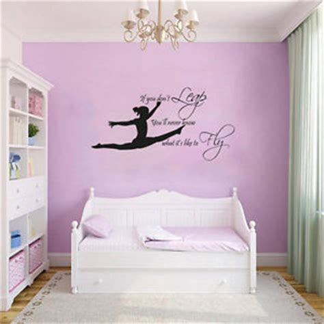 wall art for girls bedroom gymnast gymnastic girls bedroom quote vinyl wall art