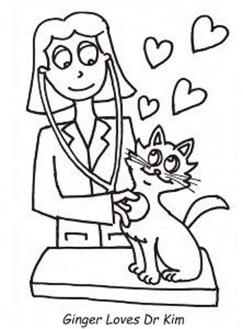 Girl Vet Coloring Page | 1000 images about kiddocolor on pinterest coloring