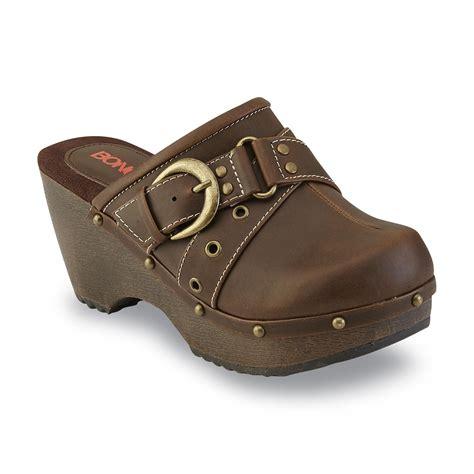 Flat Shoes Artikel Va11 bongo s maegan brown clog shoes s shoes s flats