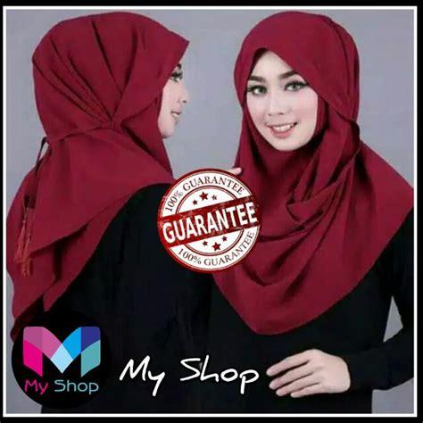 hijab instan tali tutorial hijab terbaru