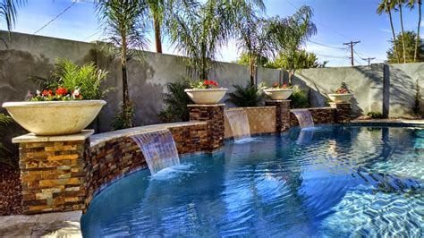 water features valley view landscaping