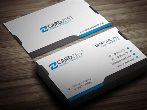 simple business card website templates simple and clean white business card template 187 cardzest