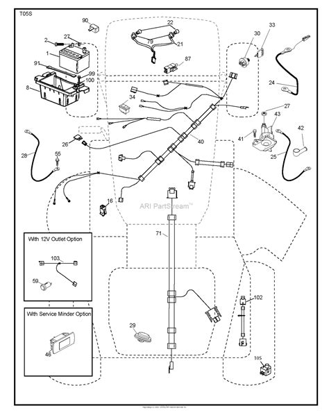 husqvarna ythv    parts diagram  electrical