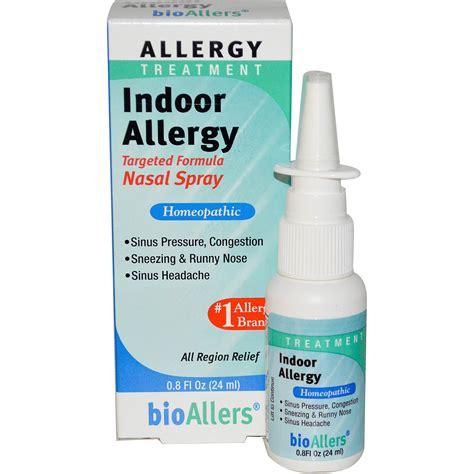 Nasalin Spray natrabio bioallers indoor allergy nasal spray 0 8 fl oz 24 ml iherb