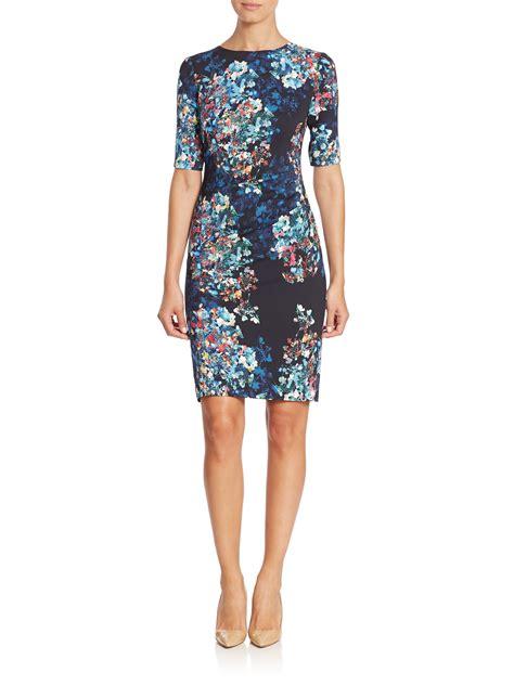 Dress L l k sleeve floral print dress lyst