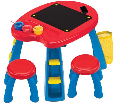 Crayola Table by Crayola Creativity Play Station With Table Stools