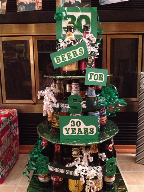 Ee   Th Ee   Bday Beer Cake This Would B Awesome For Chriss  Ee  Th Ee