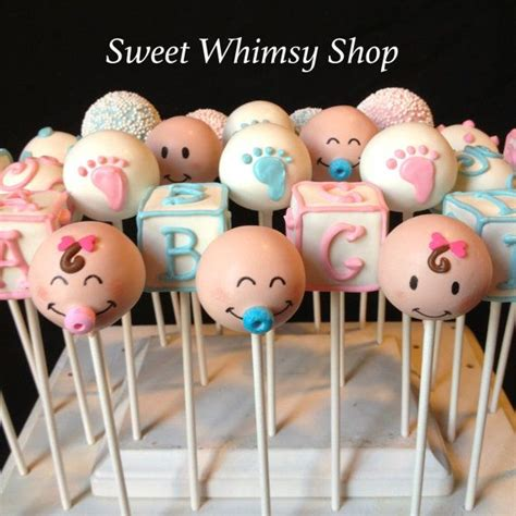 Cake Pop Ideas For Baby Shower by Best 20 Baby Faces Ideas On